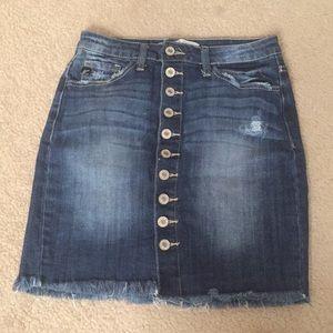KanCan Denim Skirt